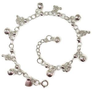 anti-tarnish 925 silver bracelet small & big balls